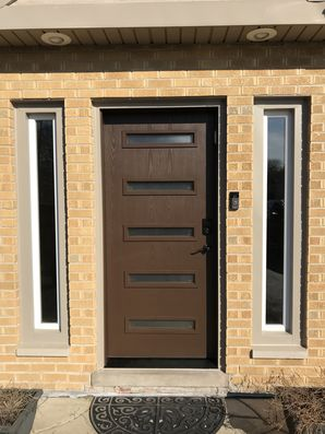 Before & After Door Installation in Wheeling, IL (2)
